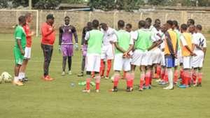 Kenya U- coach Michael Amenga.