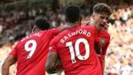 Anthony Martial Marcus Rashford Daniel James Manchester United 2019-20