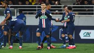 Leandro Paredes Pau Paris Saint-Germain  Coupe de France 29012019
