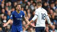 Cesar Azpilicueta, Giovani Lo Celso, Chelsea vs Tottenham 2019-20