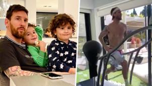 Lionel Messi Sergio Ramos quarantine