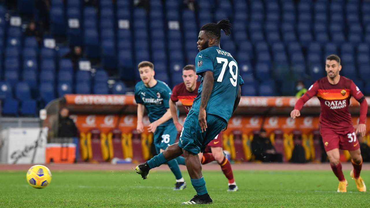 Kessié penalty - Roma Milan