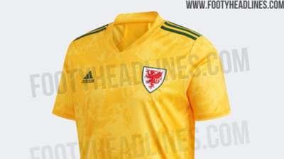 Wales Euro 2020 away kit