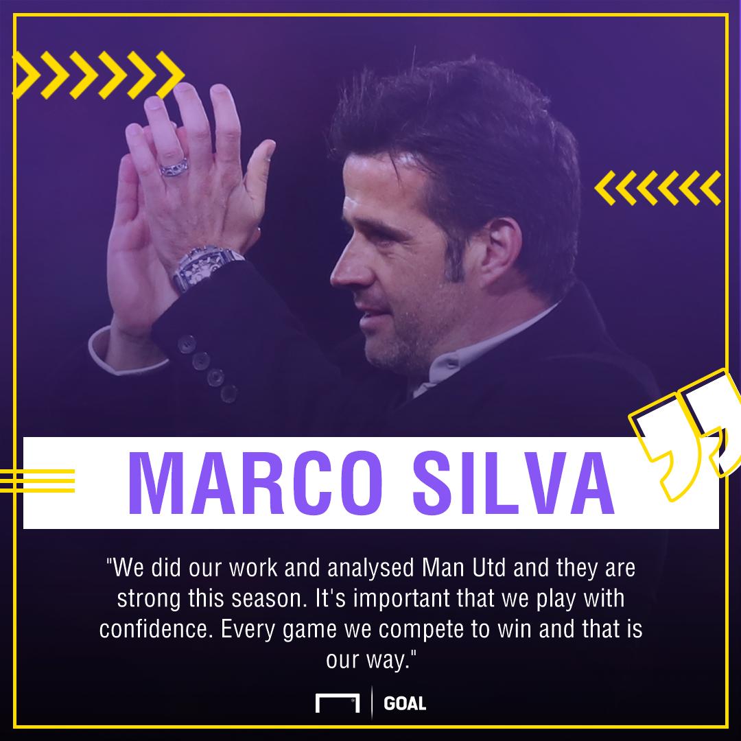 Marco Silva on Man Utd