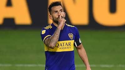 Carlos Tevez Boca River Cuartos de final Copa de la Liga Profesional 2021