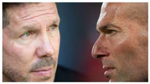 Simeone Zidane Atletico Madrid Real Madrid