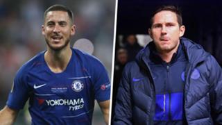 Eden Hazard Frank Lampard Chelsea