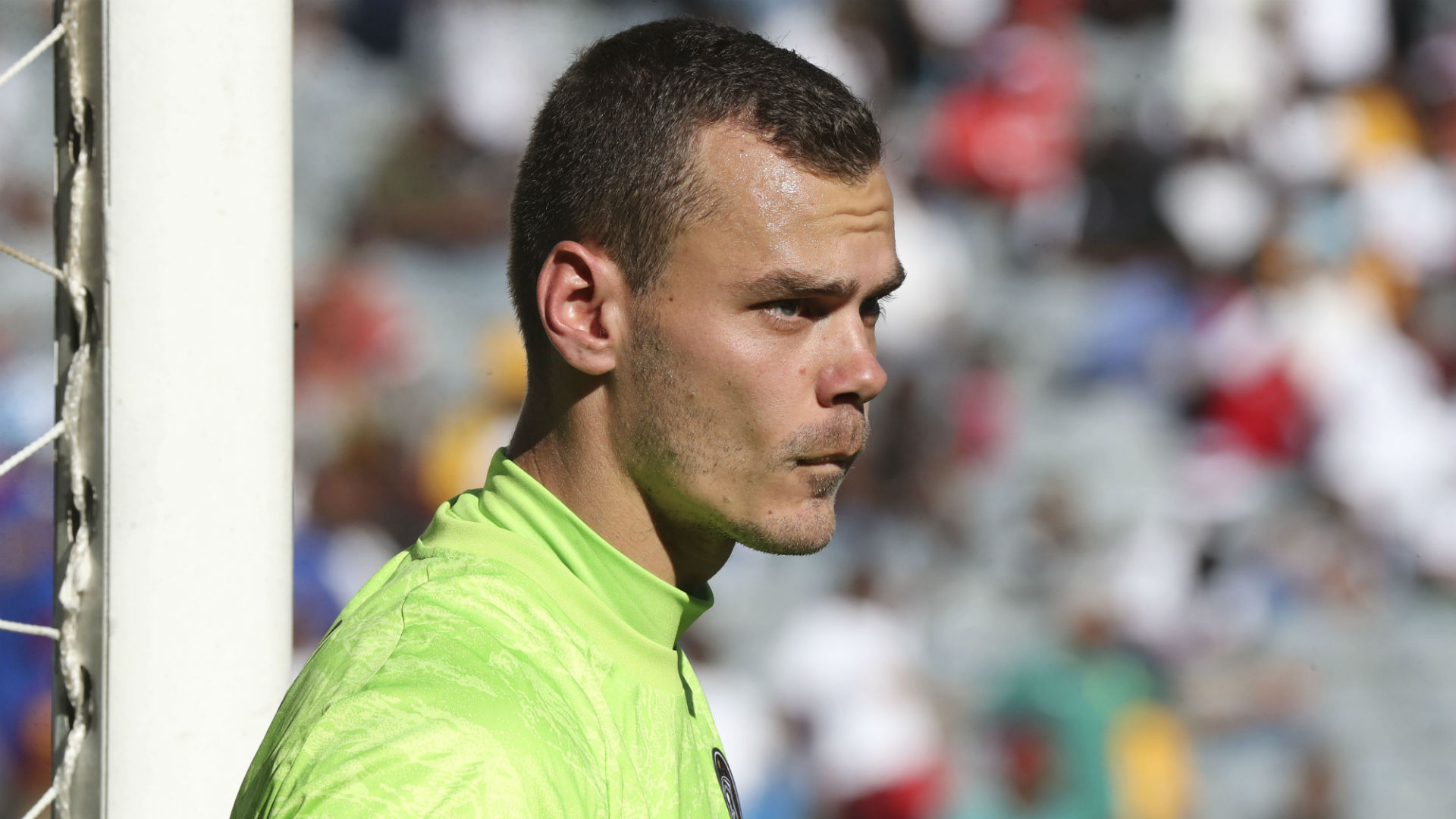 Joris Delle of Orlando Pirates, September 2019