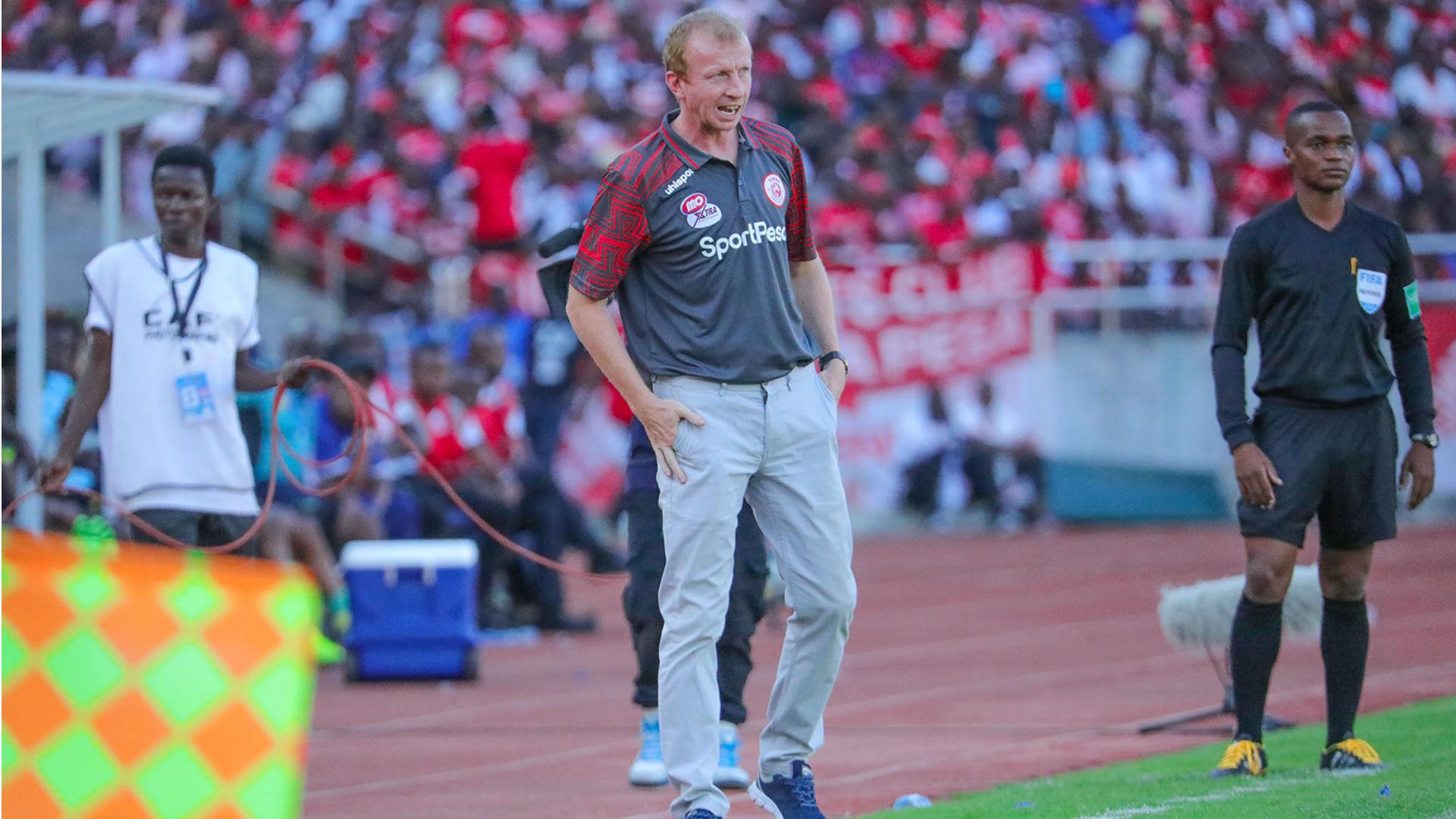 Caf CL: Simba SC coach Vandenbroeck reveals plans to beat Plateau United