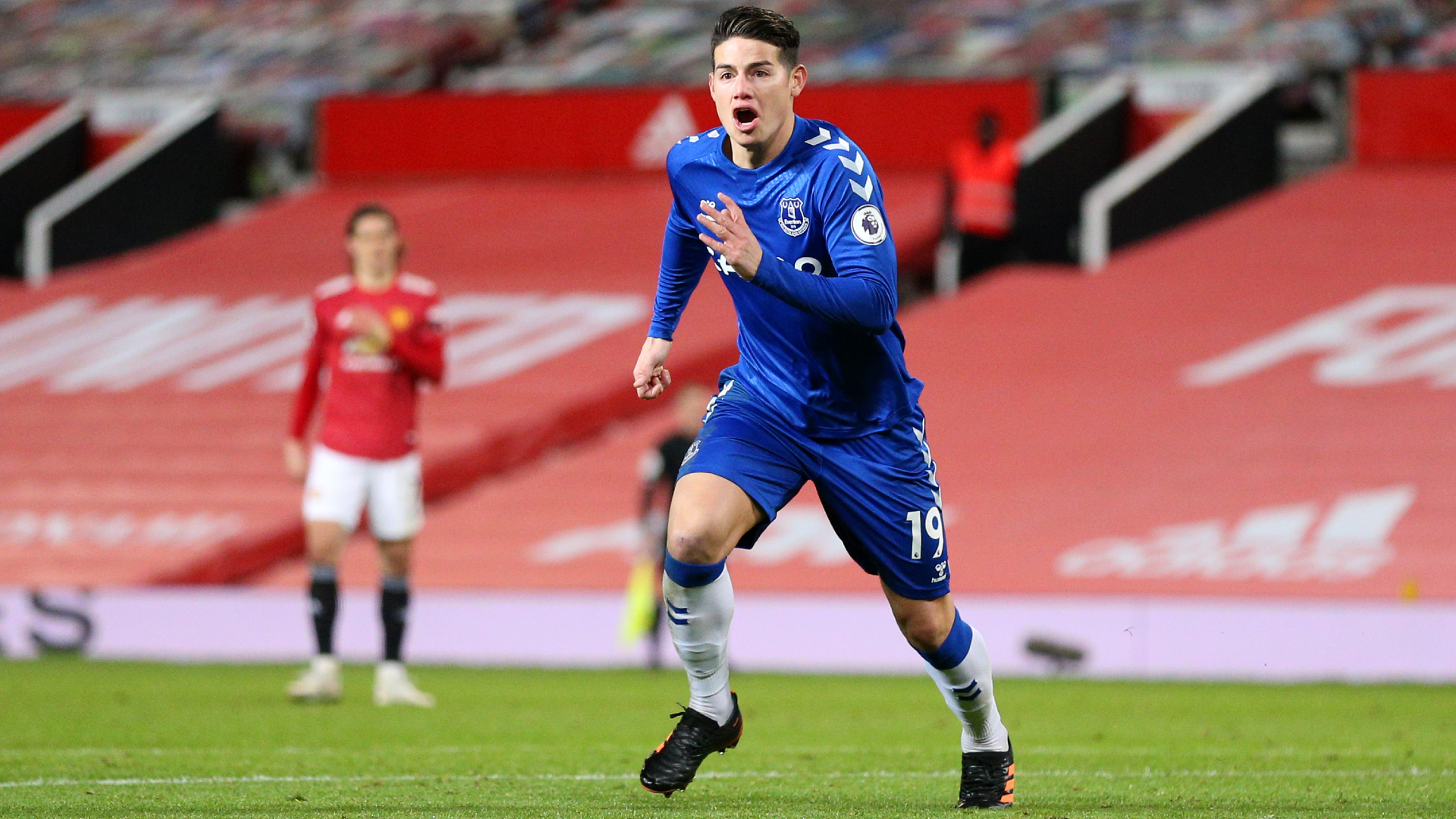 Benitez offers his take on James Rodriguez as exit talk rages around Everton playmaker