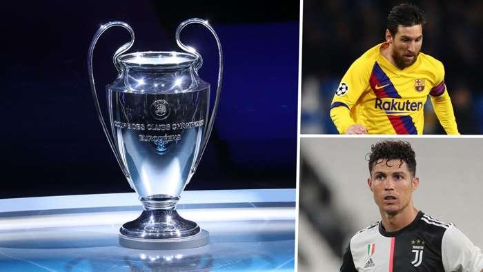 Champions League Lionel Messi Cristiano Ronaldo