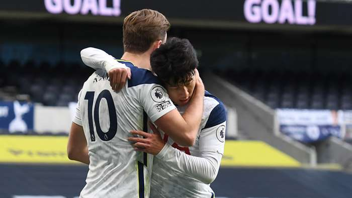 Harry Kane Son Heung-min Tottenham Hotspur 2020-21