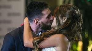 HD Lionel Messi Antonella Roccuzzo wedding