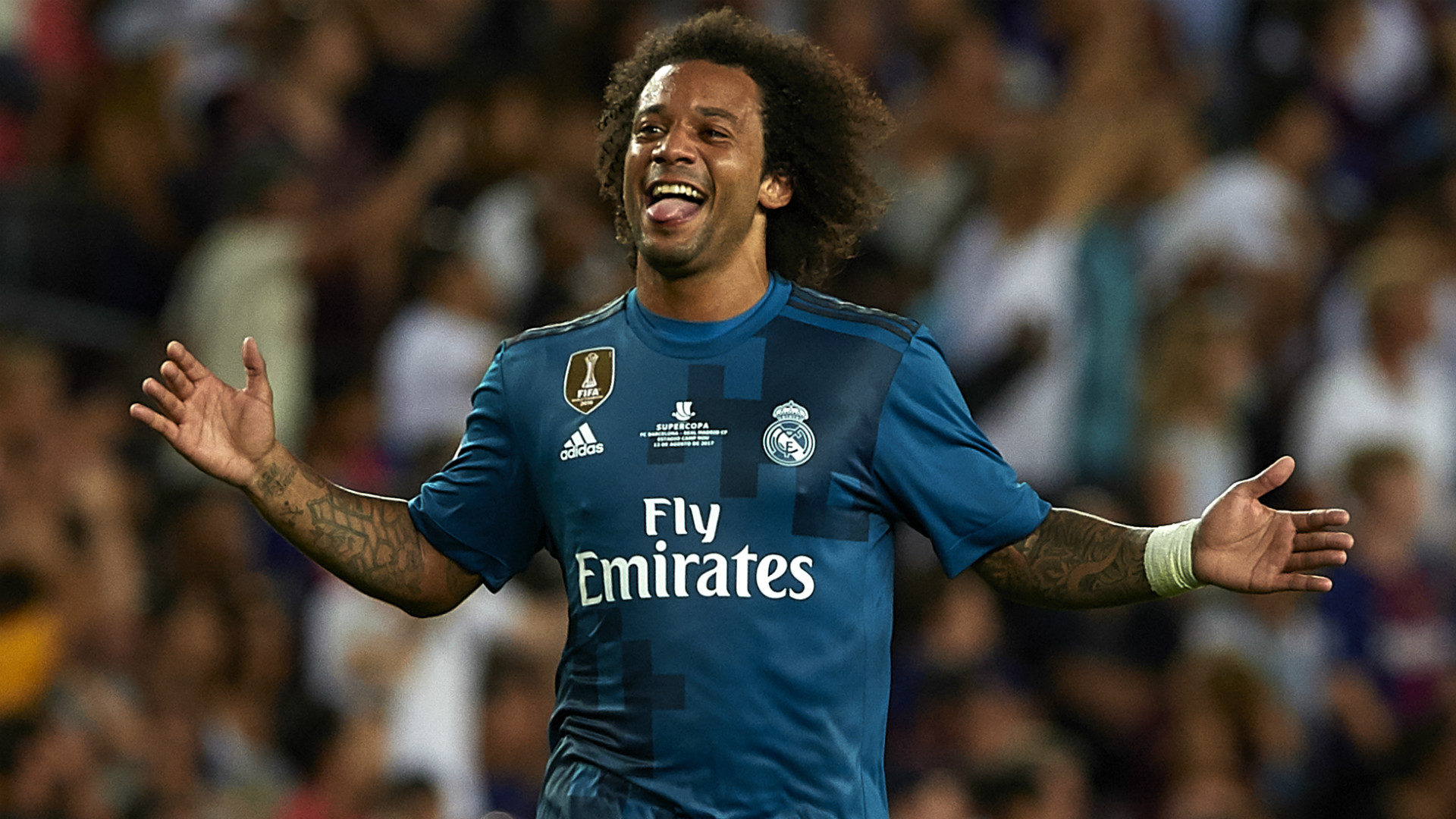 Marcelo Real Madrid Supercopa de Espana
