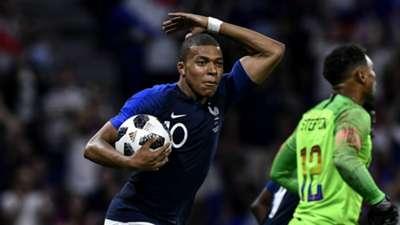 Kylian Mbappé France USA