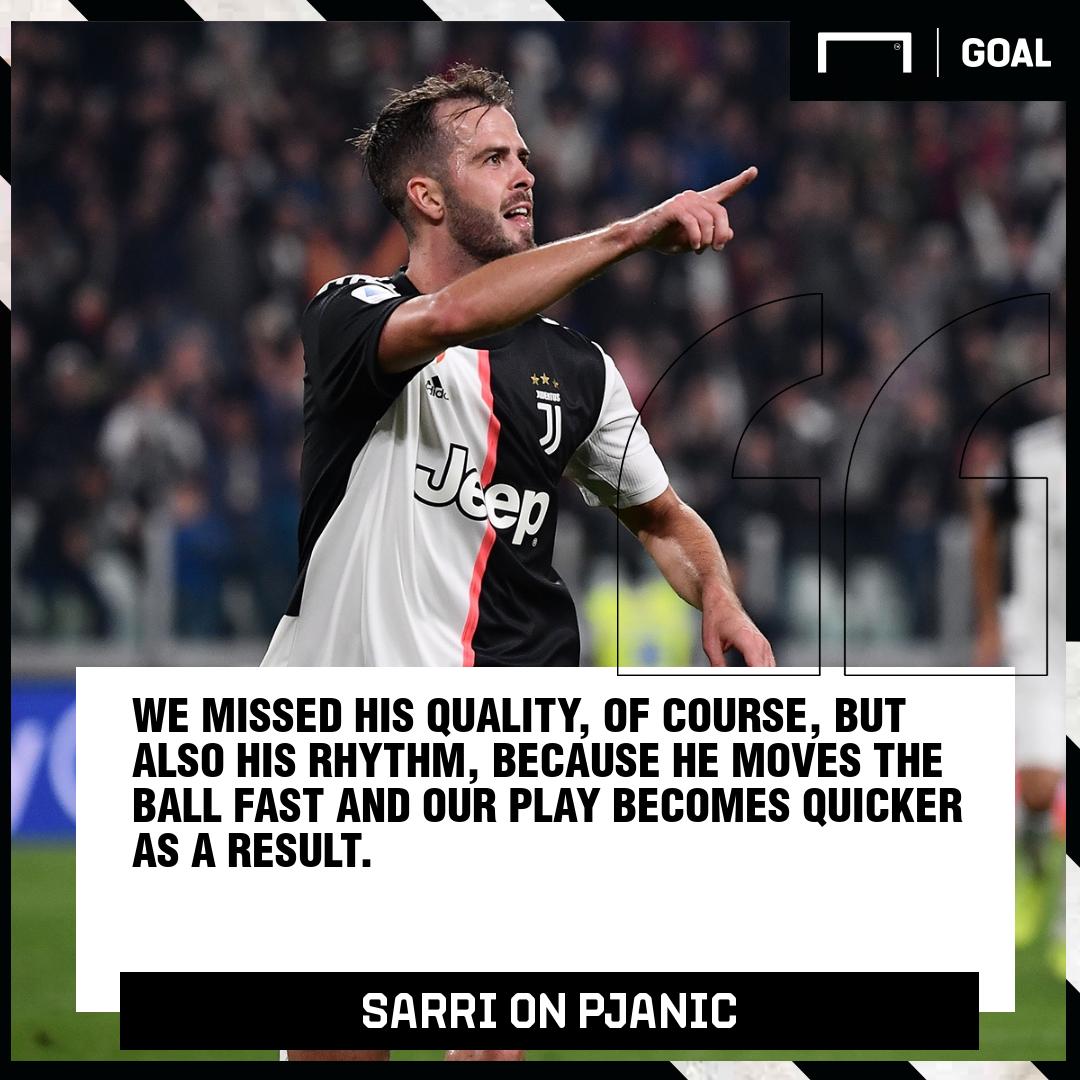 Miralem Pjanic Maurizio Sarri Juventus PS