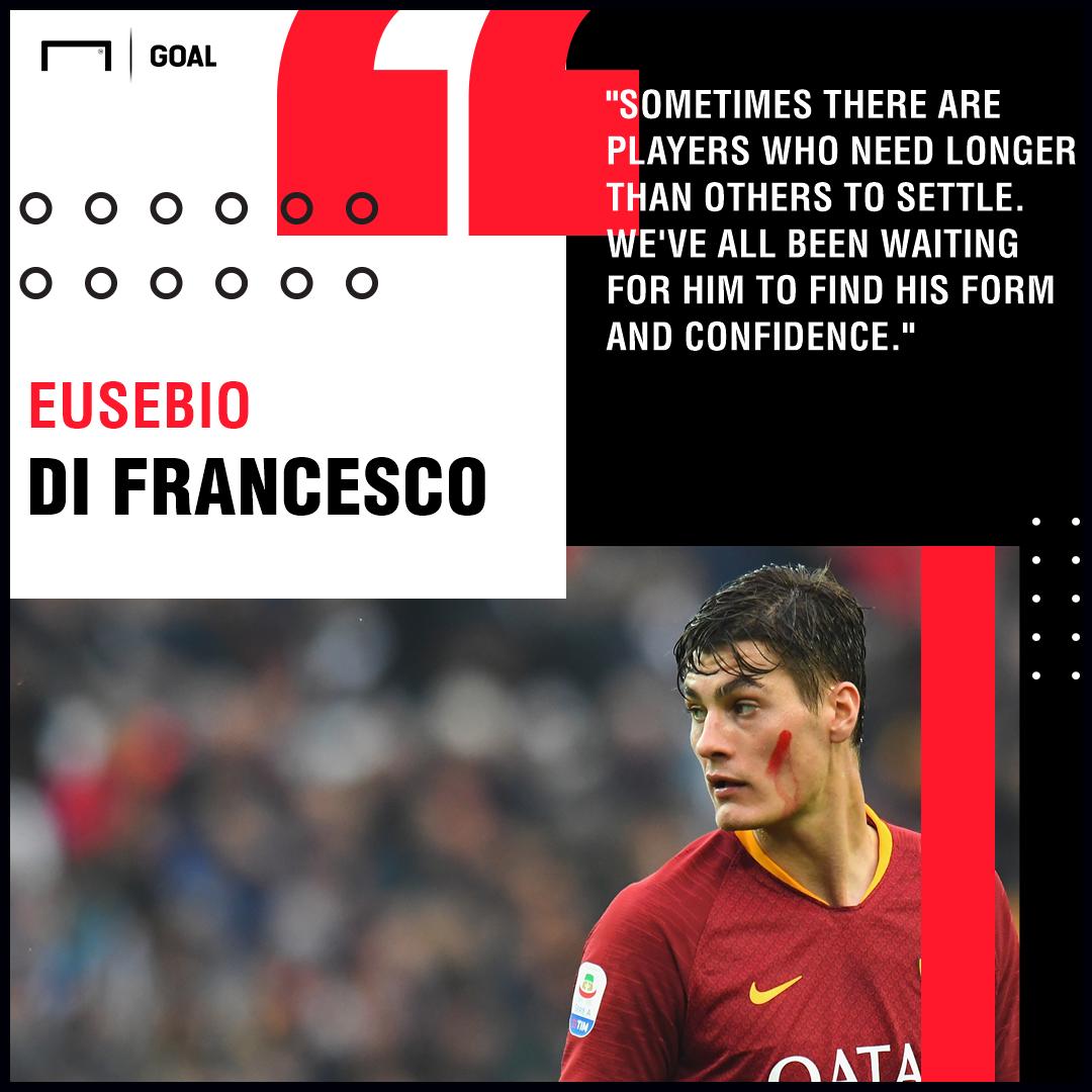 Patrik Schick Eusebio Di Francesco Roma PS