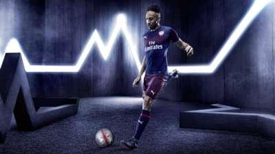 Pierre-Emerick Aubameyang Arsenal away 18-19