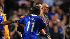 Didier Drogba Tom Henning Ovrebo Chelsea Barcelona Champions League