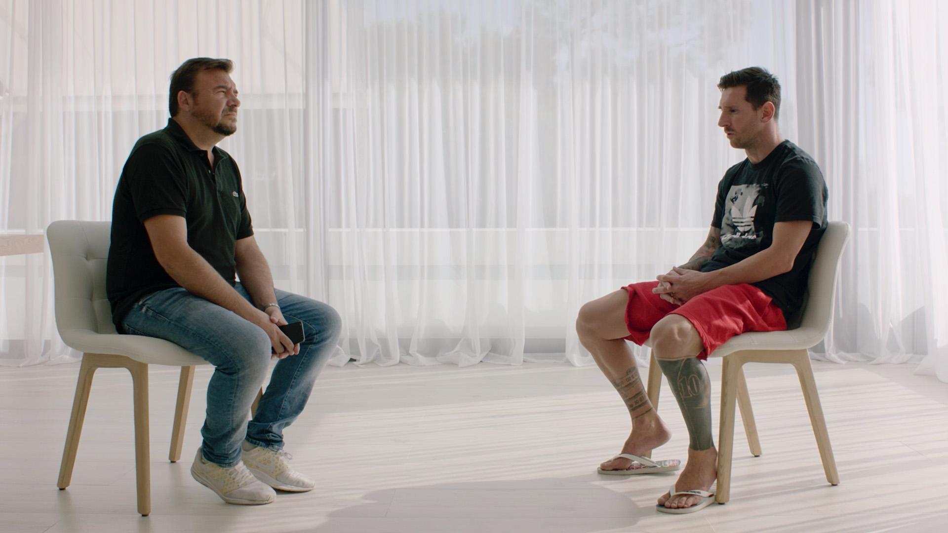 Bài phỏng vấn của Leo Messi trên Goal