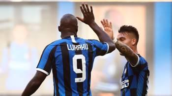 Romelu Lukaku Lautaro Martinez Inter Bologna Serie A