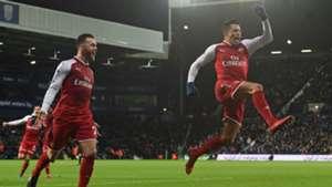 Alexis Sanchez Arsenal celebrates