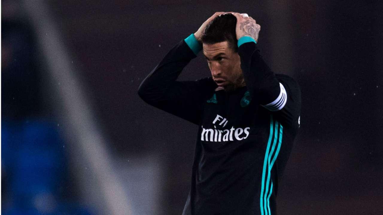Sergio Ramos Real Madrid Espanyol  La Liga