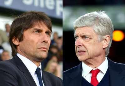 Antonio Conte Arsene Wenger composite