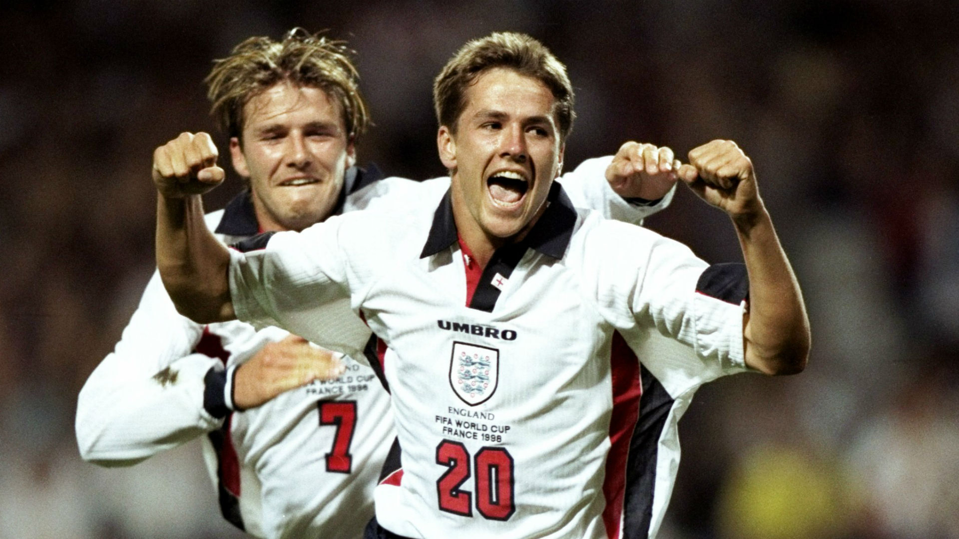 World Cup 1998 Merson 15 England Home Football Name set for National shirt