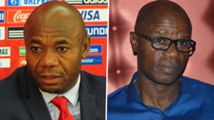 Mutiu Adepoju and Emmanuel Amunike GFX Two way spilt