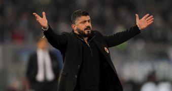 Gennaro Gattuso Lazio Milan Coppa Italia