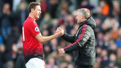 Ole Gunnar Solskjaer Nemanja Matic Manchester United 2019