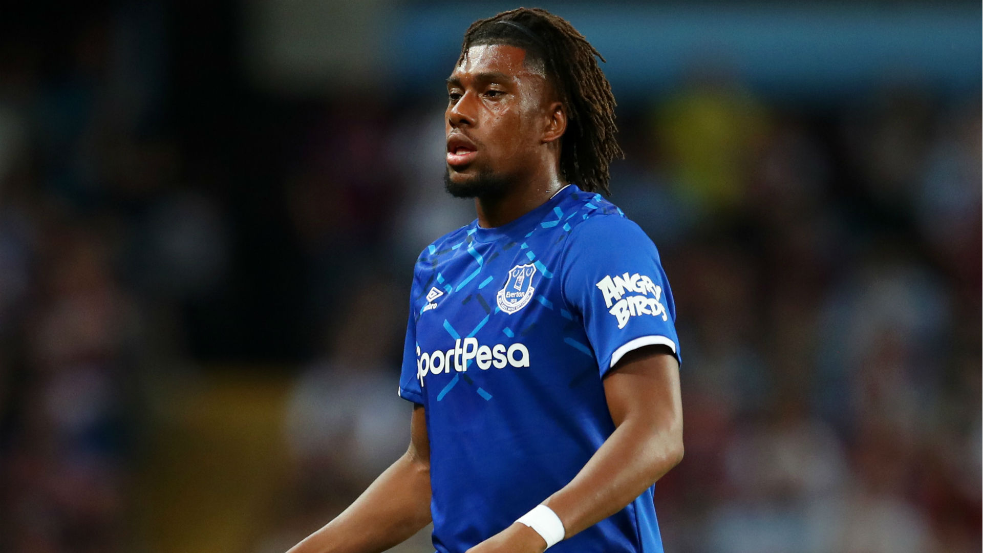 Iwobi out of Everton's starting XI against Norwich City