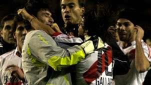 Marcelo Gallardo Roberto Abbondanzieri Boca River Copa Libertadores 2004