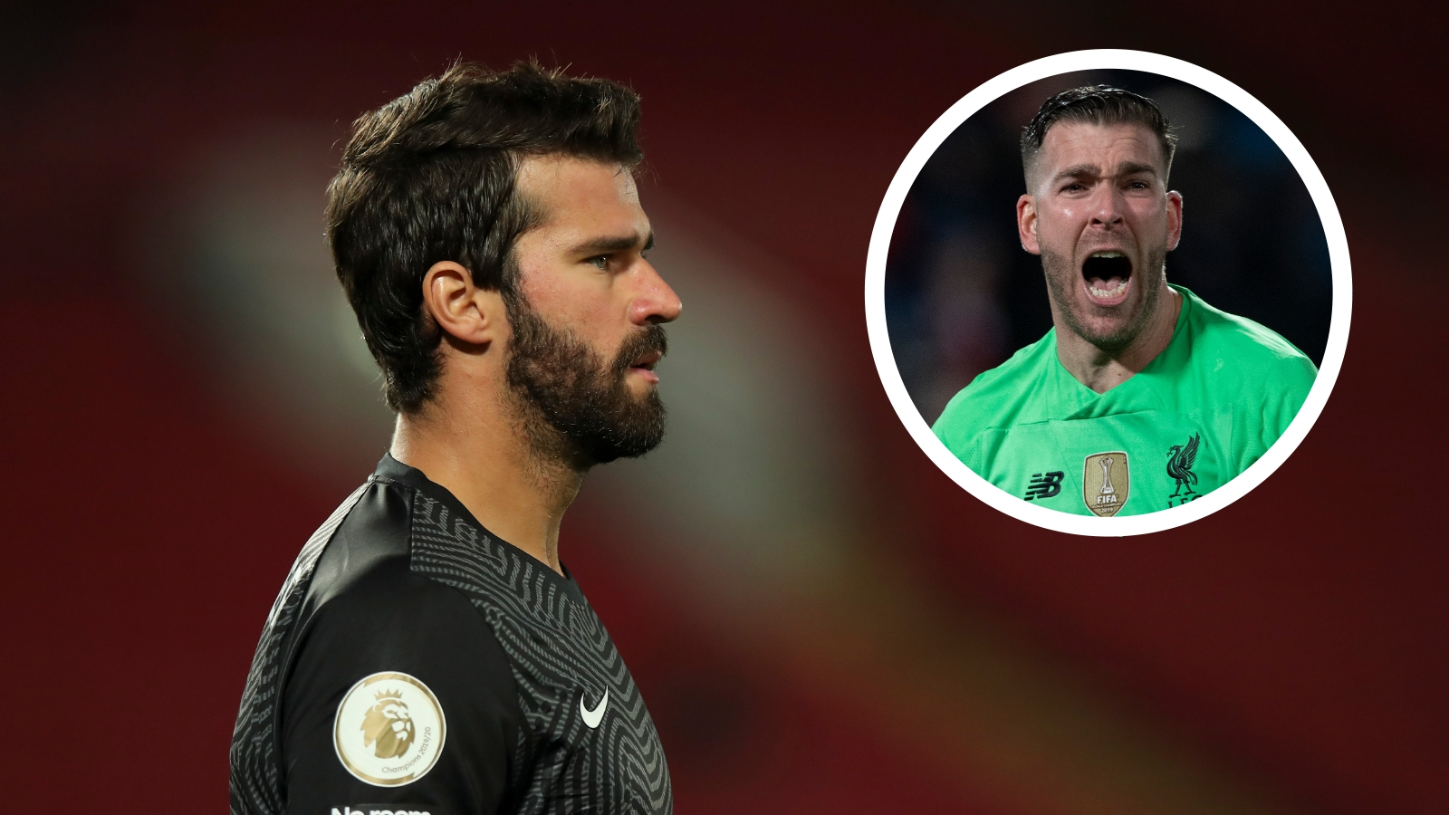 Adrian confident he can help to make Alisson better and expects to stay at Liverpool