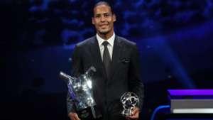 Virgil van Dijk UEFA Player of the Year 2019