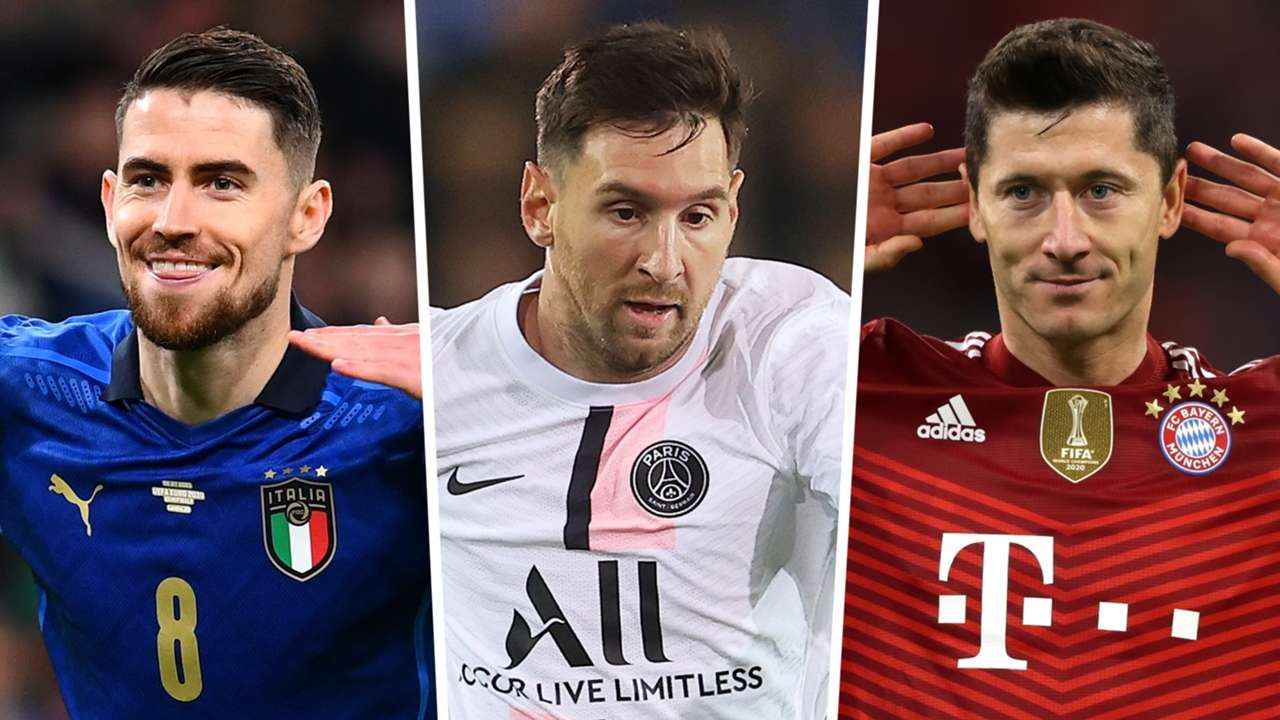 Jorginho Robert Lewandowski Lionel Messi