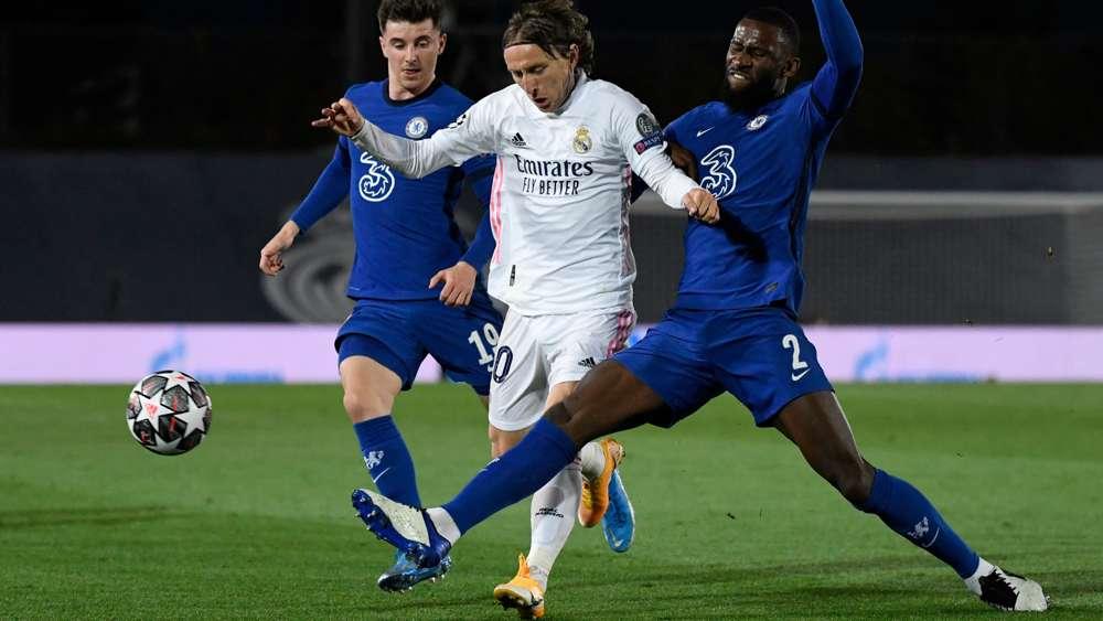 Real Madrid vs. FC Chelsea Spielbericht, 27.04.21, UEFA ...