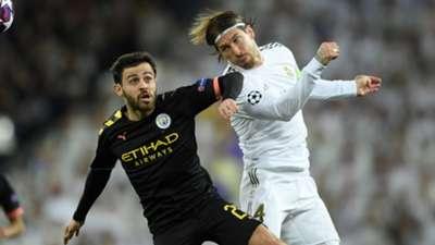 Sergio Ramos Real Madrid Manchester City