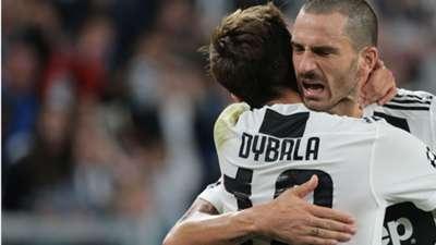 Dybala Bonucci  Juventus Young Boys Champions League