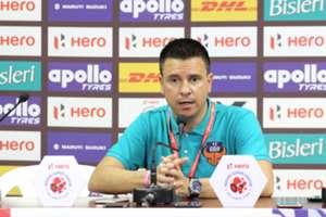 FC Goa's Sergio Lobera confident ahead of ATK test