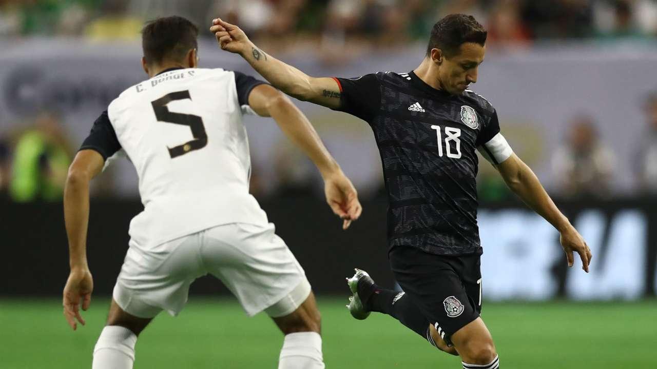 Andres Guardado Mexico Costa Rica Gold Cup 2019