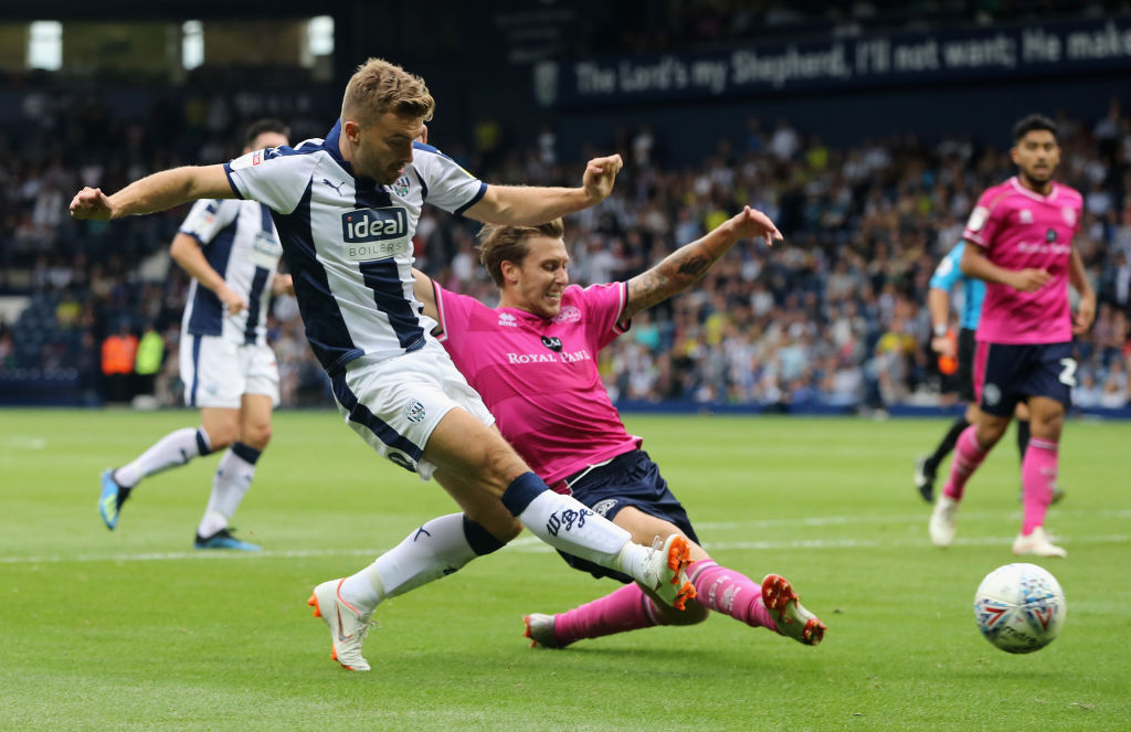 Harvey Barnes West Bromwich Albion