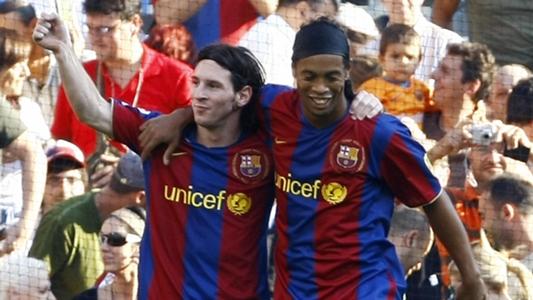 """Ronaldinho: """"Ich kann nicht sagen, dass Messi der Beste aller Zeiten ist"""""""