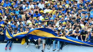 Boca Juniors fans Copa Libertadores final first leg 2018