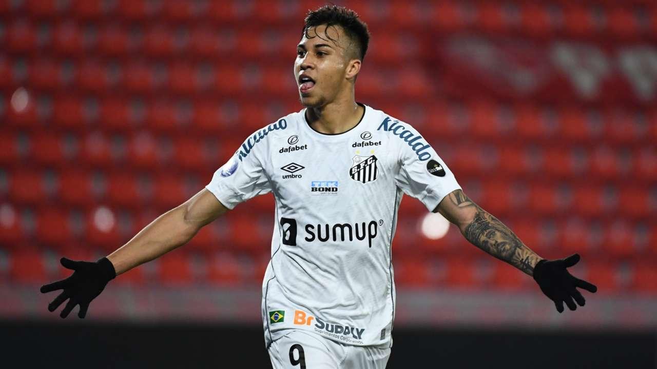 Kaio Jorge Santos Independiente Copa Sul-Americana 22 07 2021