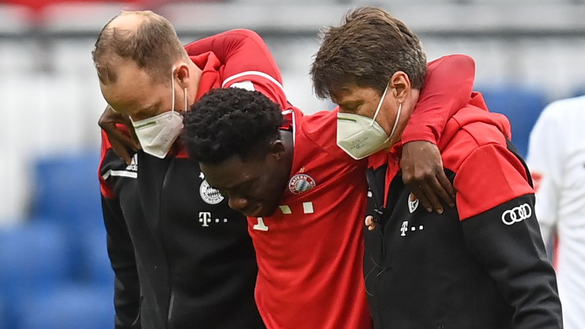 Davies injury blow for Bayern Munich as Canada star suffers ankle ligament  damage   Goal.com