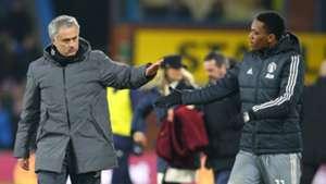 Jose Mourinho Anthony Martial Manchester United