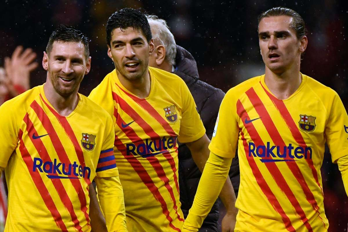 Kết quả hình ảnh cho Barcelona vs Atlético Madrid 2019