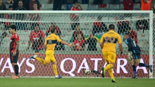 Alexis Mac Allister Athletico Paranaense Boca Copa Libertadores 24072019